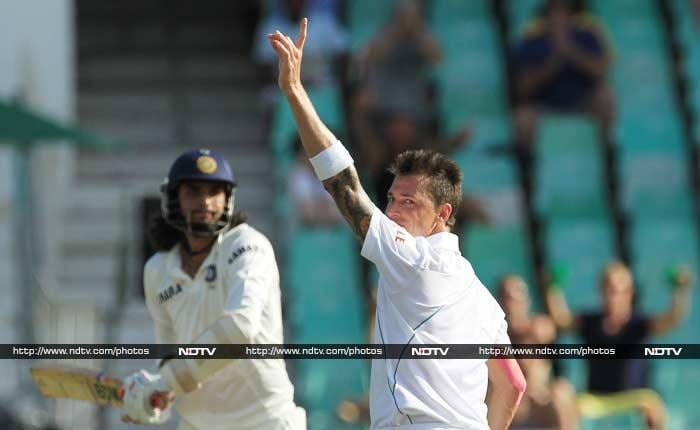 Ishant Sharma may have dispatched Steyn to the fence when he walked in but it was the bowler who had the last laugh. His heroics helped South Africa dismiss India's last five wickets for 14 runs.