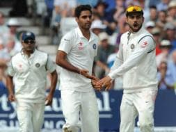 Photo : 1st Test, Day 3: Indian Seamers Hunt England Batsmen