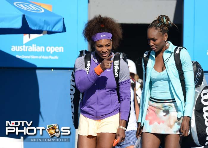 It has been reported that she will also help sister Venus Williams (right) and plans to pass on key tips to big sister Venus ahead of her Australian Open clash with Maria Sharapova.