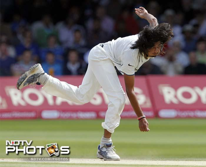 The second session of play again had Ishant firing in as the English batsman ducked for cover. Eoin Morgan (19) fell prey despite attempting to resist.