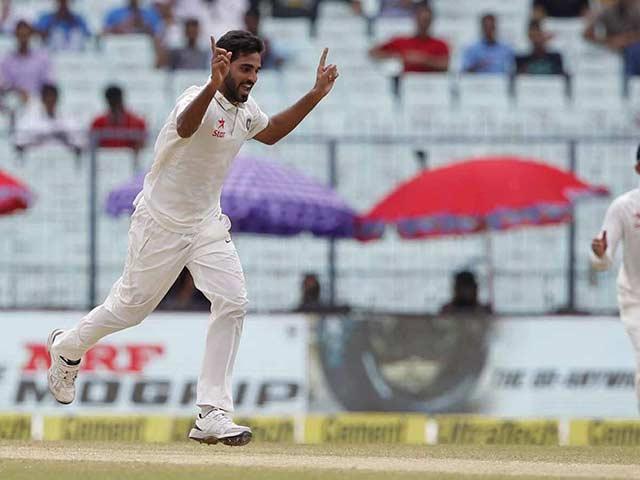 Bhuvneshwar Kumar Puts India In Command