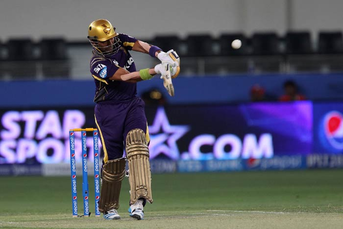 It was Robin Uthappa who top-scored for his side with a 41-ball 55.<br><br>His innings had six fours and a six and propelled the innings forward. (BCCI image)
