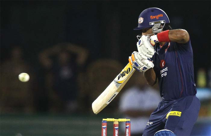Unmukt Chand gave good support to Warner and hit 37 off 39. (BCCI image)