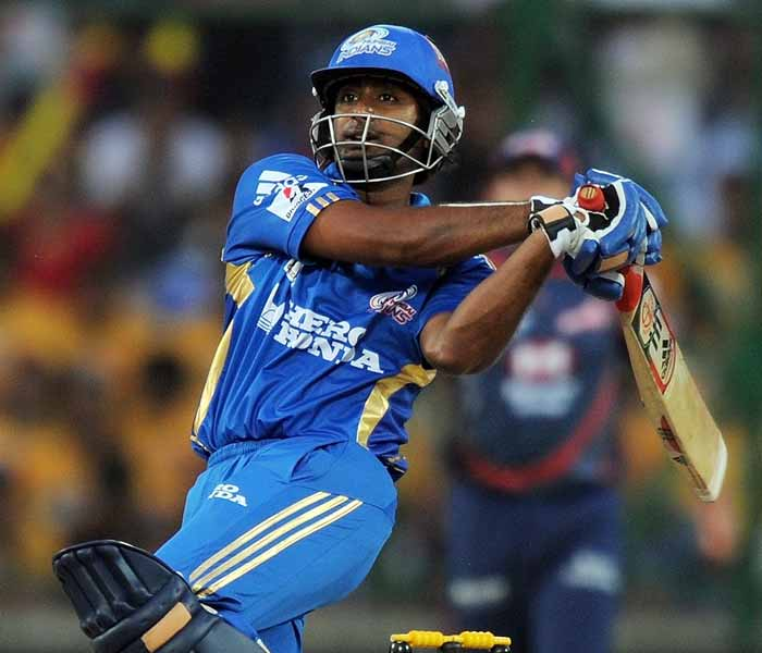 Ambati Rayudu played a sensible knock of 15 with two boundaries but was run out eventually.