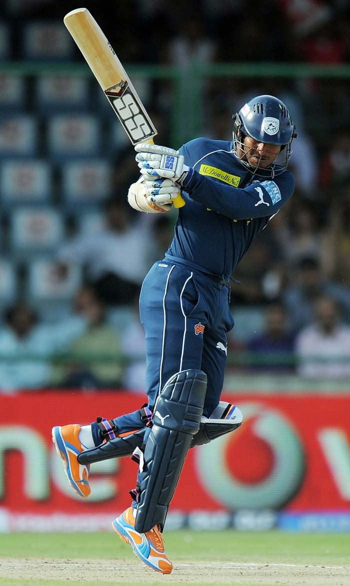 His skipper walked in to replace Dhawan and gave Sohal company at the crease with his trademark class. Sangakkara's knock of 49 had eight boundaries and a six.
