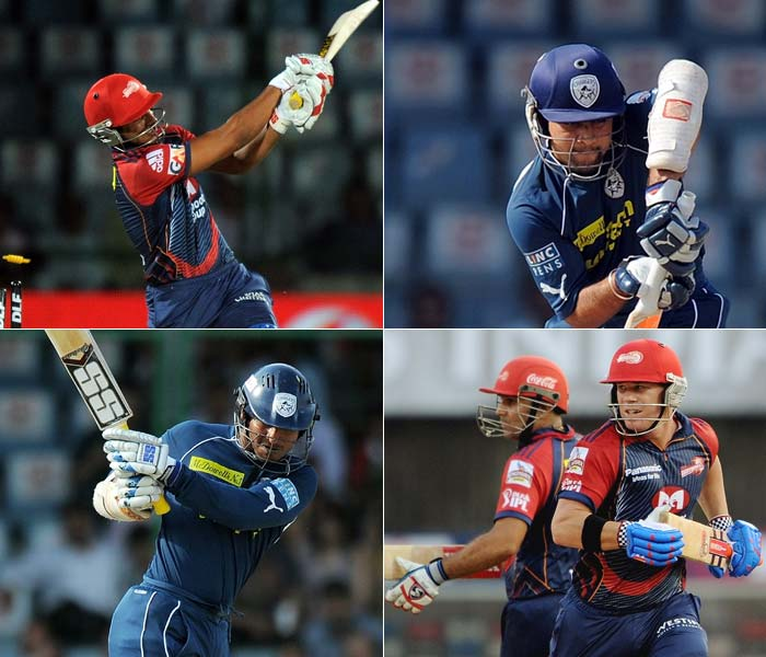 Deccan Chargers faced off against hosts Delhi Daredevils at the Feroze Shah Kotla stadium on Tuesday. Kumar Sangakkara won the toss and decided to bat first.
