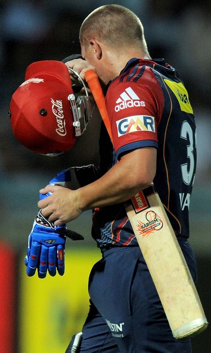 He was followed to the dug-out by Warner who found the fielder at the boundary off the bowling of Shikhar Dhawan.