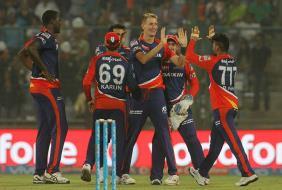 Photo : IPL: Delhi Daredevils Beat Kolkata Knight Riders, Move to Second Spot
