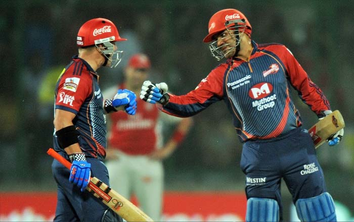 The duo put together a sensational 146 runs for the opening wicket and played havoc with the bowling figures of players of repute like Praveen Kumar, David Hussey and Piyush Chawla.