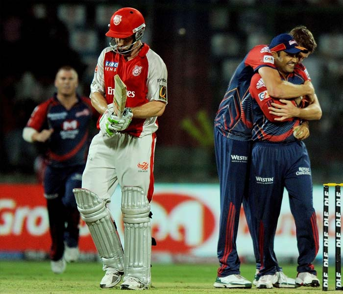 Once Marsh departed though, the battle seemed all but lost as the Kings XI Punjab did not have the firepower having lost David Hussey even before Marsh.