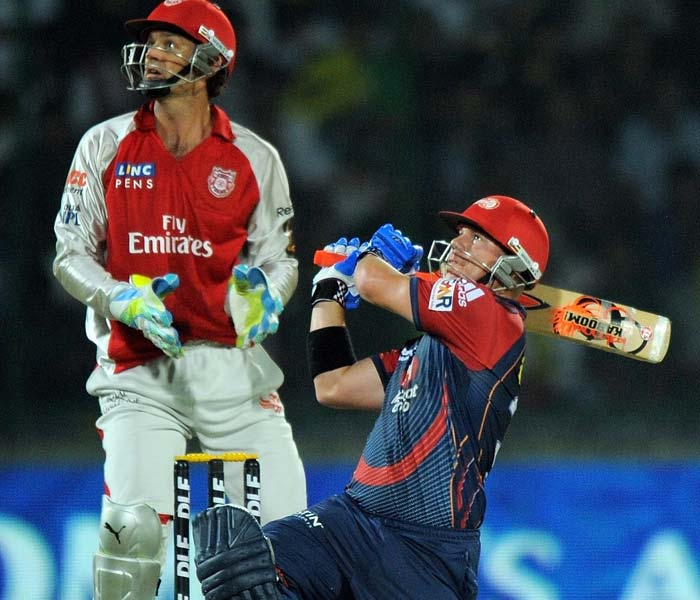 David Warner at the other end pulverised the attack as well as boundaries flowed and sixes rained with generosity at the Feroze Shah Kotla.
