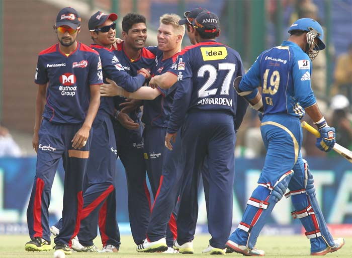Delhi's Umesh Yadav claimed two wickets towards the end as Mumbai finished on 161 - a total which proved too less in hindsight. (BCCI image)