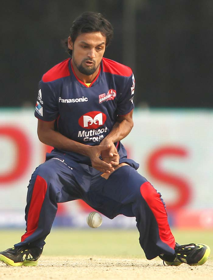 Delhi bowlers and fielders were guilty of giving lifelines by dropping catches on several occasions. (BCCI image)