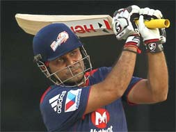 Photo : Delhi thump Mumbai for first win of IPL 2013