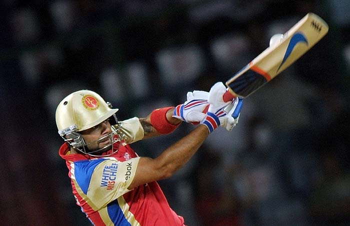 Despite the eventual exit of Chris Gayle and AB de Villiers' run-out, Kohli helped himself to a 43-ball 54.