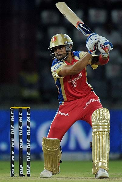 Gayle was partnered well by Virat Kohli who eventually overtook him and took over the main controls of the chase.