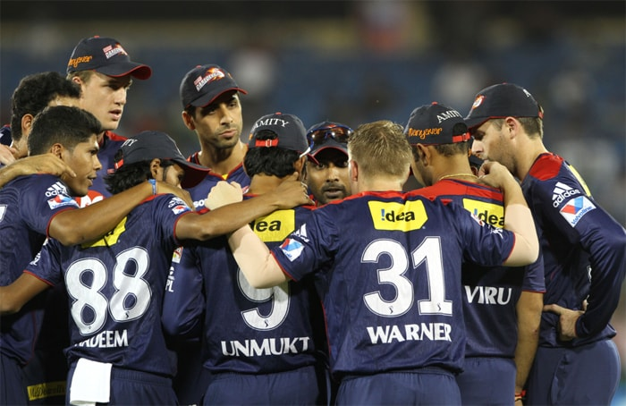 Delhi Daredevils moved up from last spot with a win over Pune Warriors India in Raipur by 15 runs. (Image Credit BCCI)