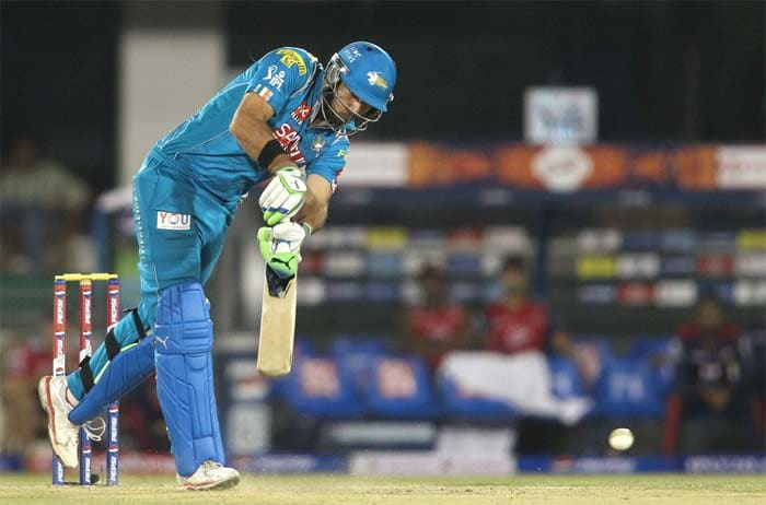 Yuvraj Singh took the attack to the bowlers as he tried to bring the required rate down. (Image Credit BCCI)