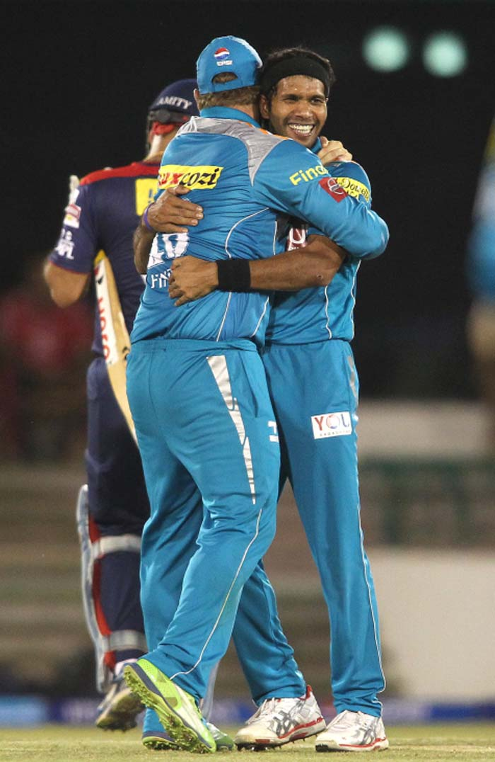 Dinda got the breakthrough by removing Mahela Jayawardena early on. (Image Credit BCCI)