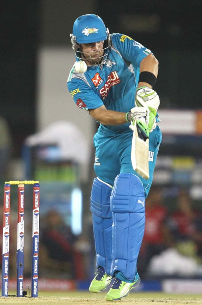 Aaron Finch led by example hitting 37 and the openers put on 76. (Image Credit BCCI)