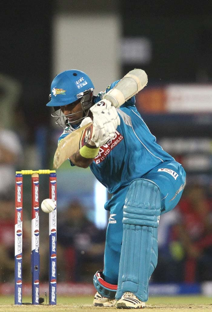 Robin Uthappa was looking good but threw it away after reaching 37. (Image Credit BCCI)