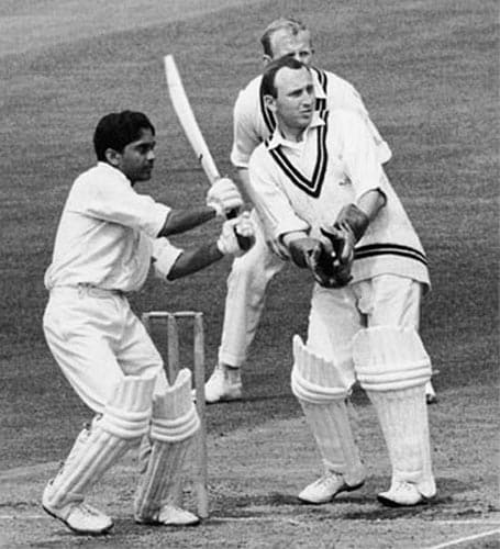 <b>Hanumant Singh:</b> Hanumant Singh never fulfilled the promise that he showed in his debut Test itself. Perhaps too much was expected of him after scoring a century on his Test debut, against England in 1963-64 at Delhi.