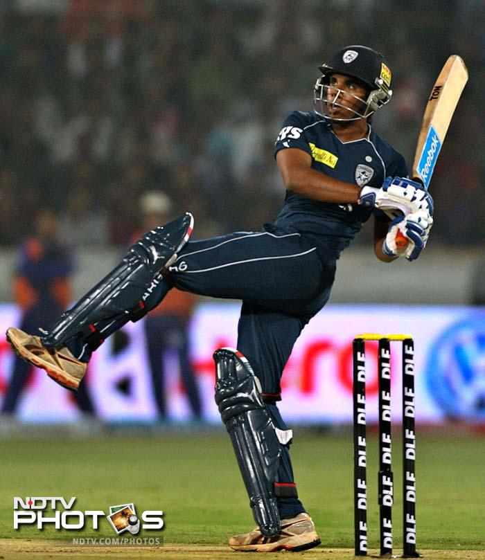 Akshath Reddy continued playing his part in the Deccan chase.