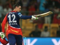 Quinton de Kock's Maiden Century Gives DD Magnificent Win Over RCB