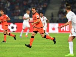Photo : ISL: Del Piero Dazzles on Debut as Delhi, Pune Play Out Goal-less Draw