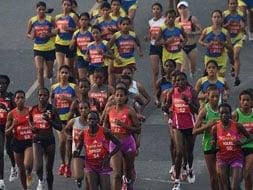 The Airtel Delhi Half Marathon 2012