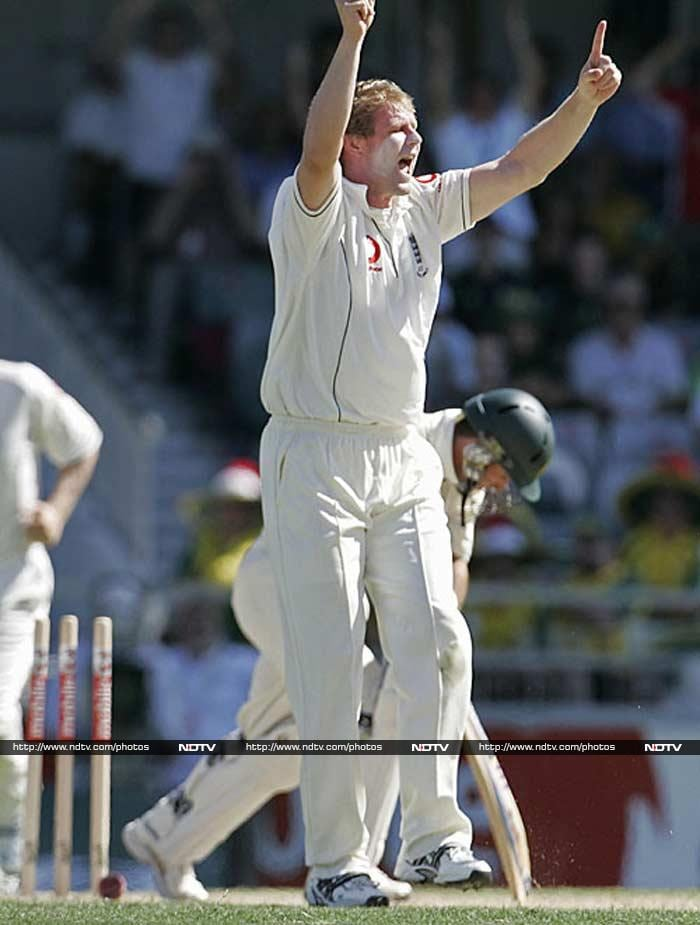 Matthew Hoggard wrote about his depression during England's tour of New Zealand in 2008 - his final series - in his autobiography. (AFP image)