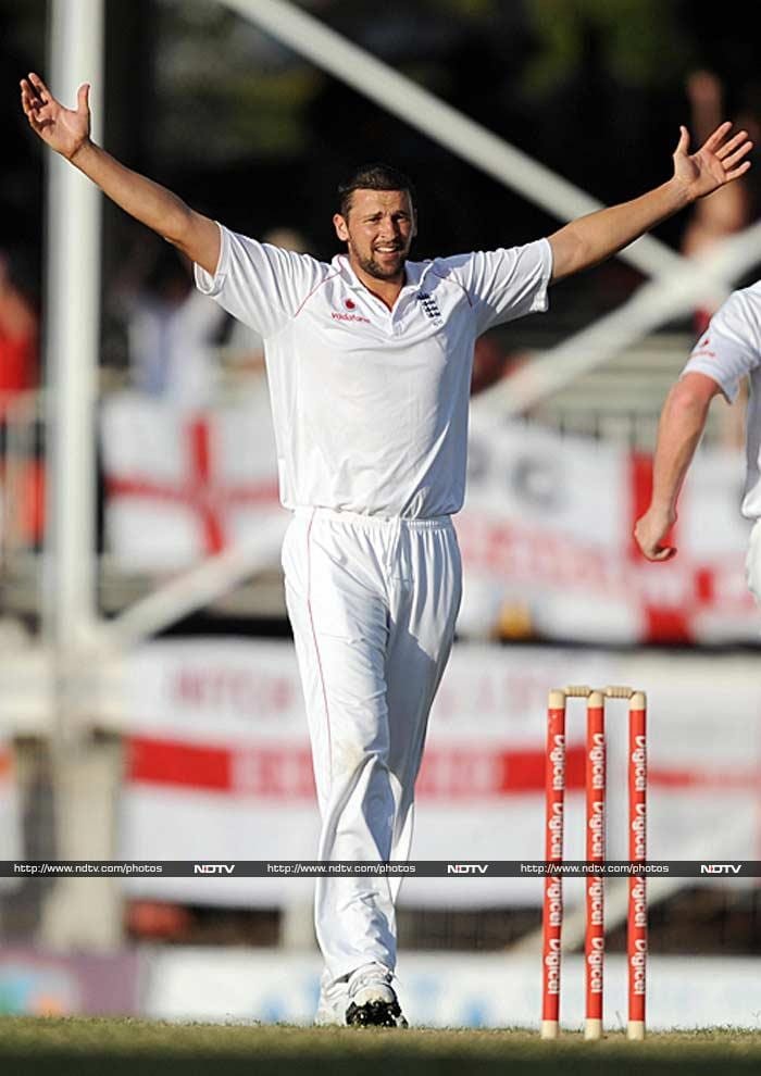 Fast bowler Steven Harmison disguised depression as home sickness for 10 years during his international career. (AFP image)