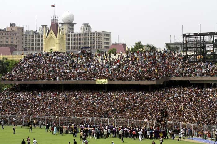 A magnificent view of a jam-packed Eden Gardens. (AP image)