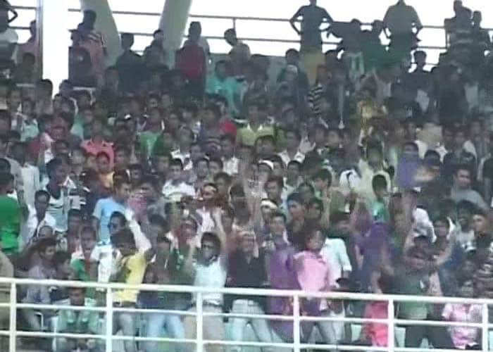 The fans at the Eden Gardens were patient, passionate and ready to reach new decibel levels.