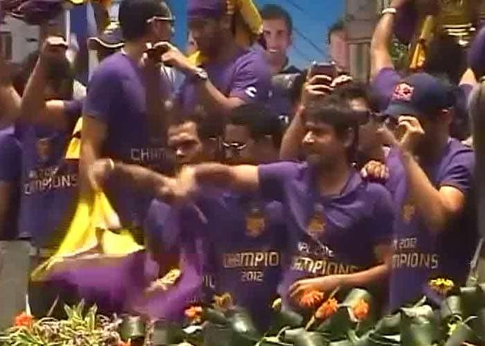 It was hard to distinguish the feeling of fans from that of the Kolkata players. Gambhir had dedicated the win to the people of the city and the state, earlier.