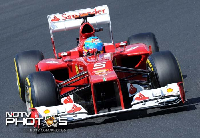 Ferrari had an ordinary outing as Fernando Alonso took fifth position, unsatisfactory by his standards.