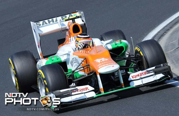 Force India were unable to make a top ten finish as Nico Hulkenberg scraped in at eleventh place to be followed by teammate Paul di Resta.
