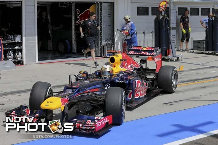 Sebastian Vettel narrowly missed out on a top three finish coming in fourth in the final race.