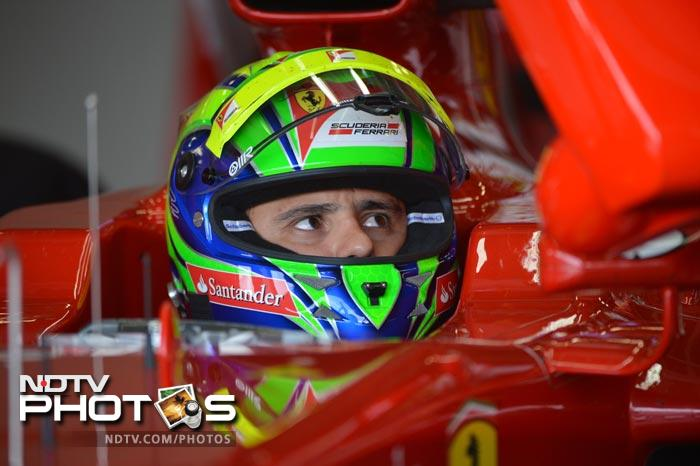 Felipe Massa took the fourth positon meaning that Ferrari had two drivers in the top four finishers in the final race.