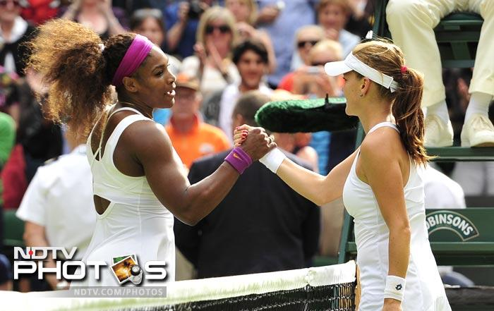 It was a brave effort by Radwanska, but in the end Serena proved too much for the Pole. The prize money awarded to Serena for this win was $1.78 million. However it was entertaining tennis and the crowd had a lot ot cheer about.