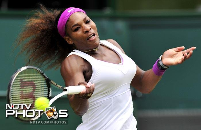 Serena Williams took control of the game right from the start as she took the first set conceding just one game to Agnieszka Radwanska.