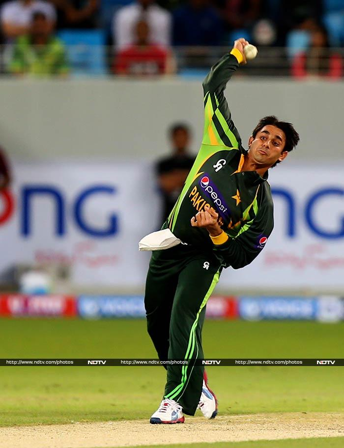 Saeed Ajmal is the best ODI bowler at present and is known to tie the batsmen down and induce them into committing a mistake.
