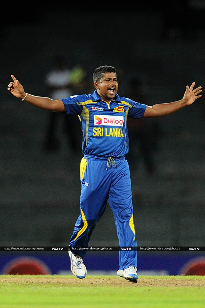 Ranked 6th in the ICC table, Rangana Herath will find the turning pitches to his liking and can expect a lot of purchase off the wicket.