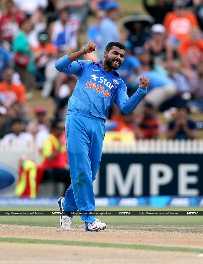 Ravindra Jadeja, who is ranked 9, is known to be the man who breaks partnerships. India will rely on him to keep things calm in the middle overs when batsmen try to cut loose.