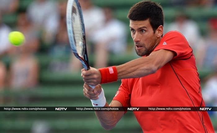 Novak Djokovic may have been pushed to second place by Nadal, but as the defending champion, he is expected to be for than a handful for his opponents Down Under.
