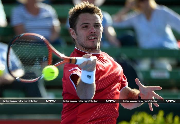 Stanislas Wawrinka may be an underachiever, but the world number eight is known to spring up a surpise in major tounaments. His recent triumph in the Chennai Open will certainly give him the confidence to upset the balance of things.