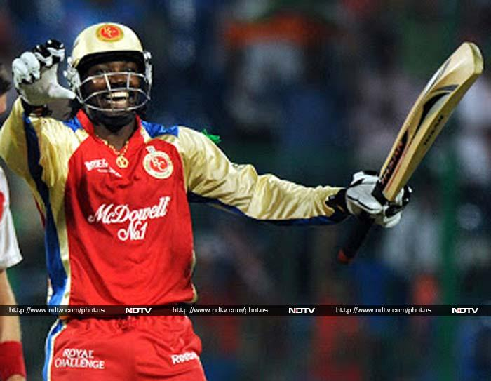 Royal Challengers Bangalore could not make it so the big hitting Chris Gayle misses out on a chance to showcase his talents.
