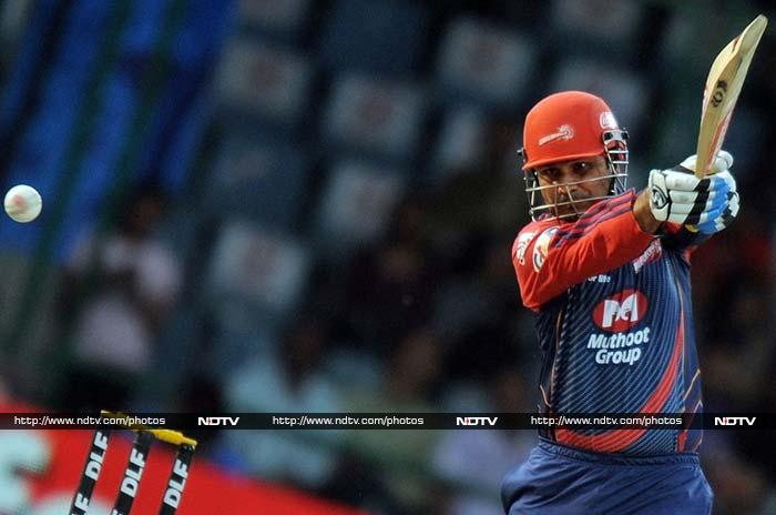 Virender Sehwag's Delhi Daredevils failed to qualify meaning that this dashing batsman won't get to set the stage on fire.