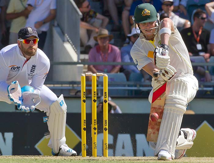 Steven Smith could not add much to his overnight score as he was dismissed for 111.