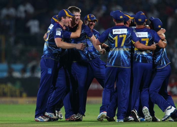 A thrilling end to a great match saw Otago Volts win by courtesy of sixes against Highveld Lions. (BCCI Images)